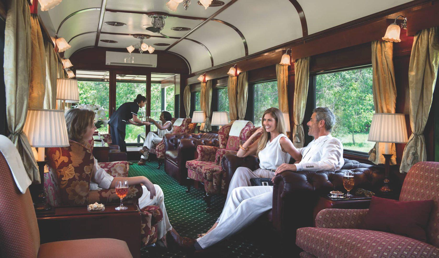 Rovos Rail clubroom