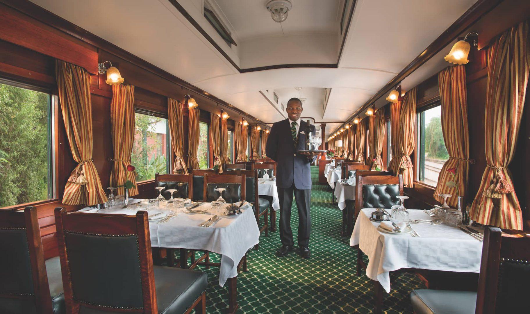 Rovos Rail restauracja