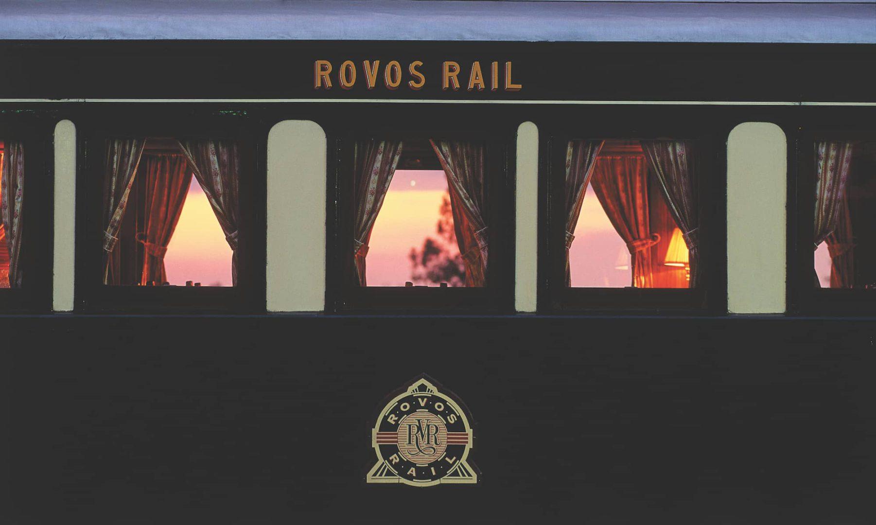 Rovos Rail wagon