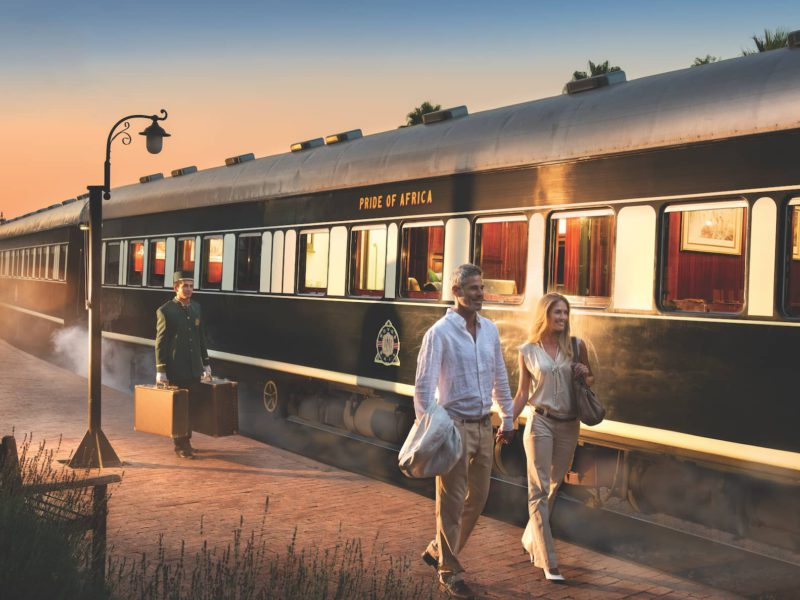 Rovos Rail wagony