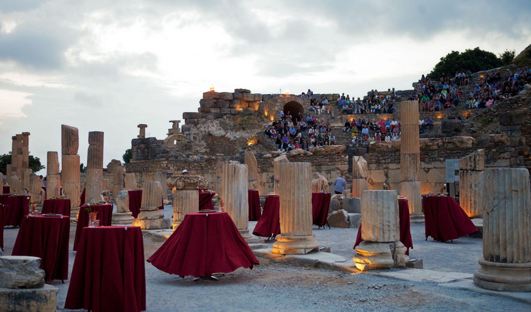 Kusadasi, Azamazing Evenings, Ephesus, Turkey, Europe, June 2013,