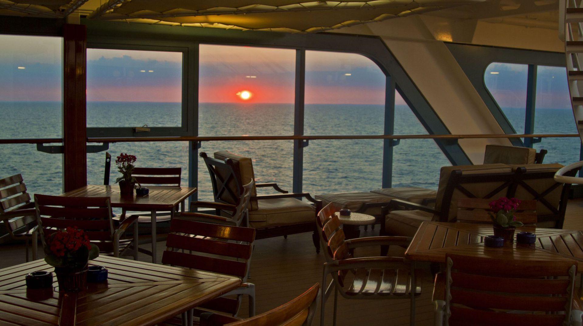 inside ship, Azamara