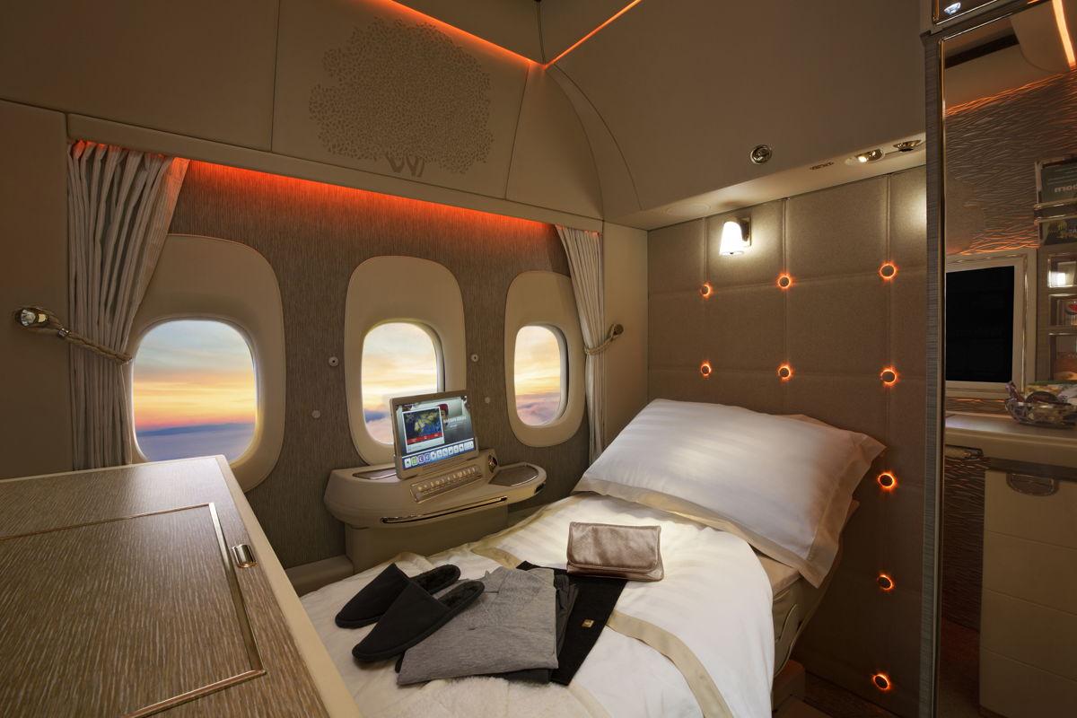 Bilety lotnicze Emirates First Class