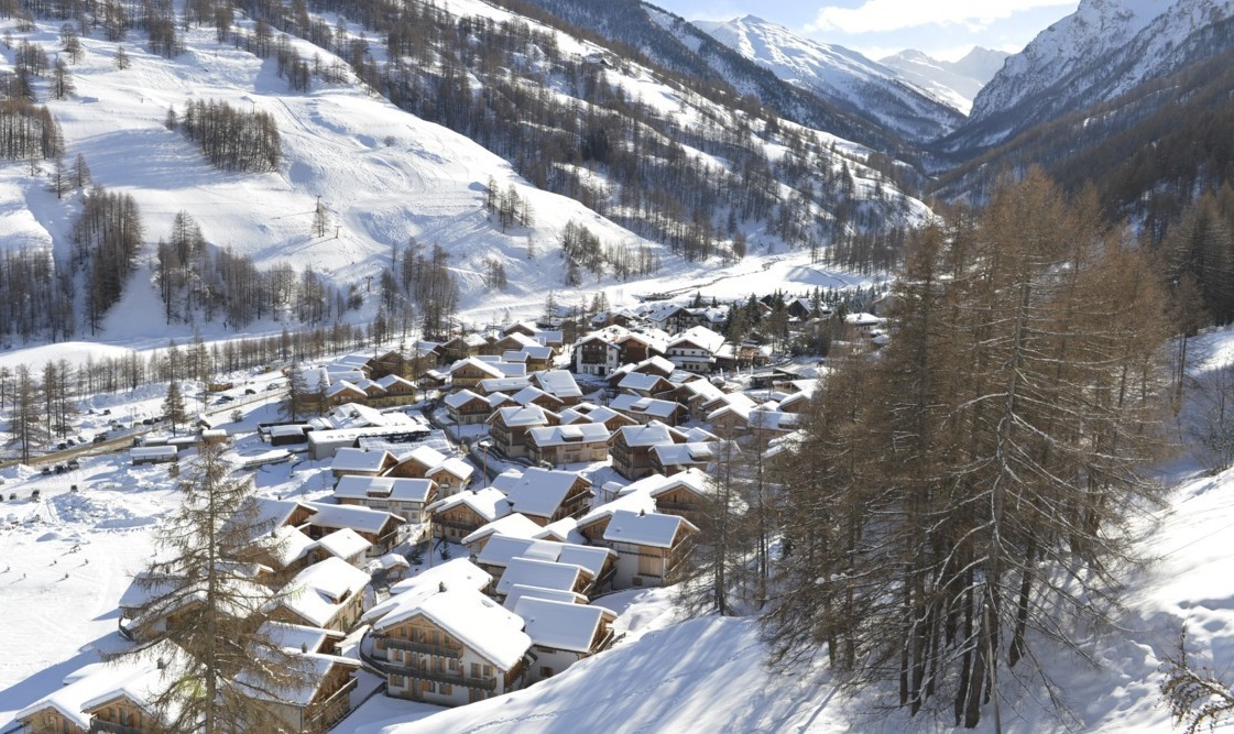 Club Med Pragelato panorama