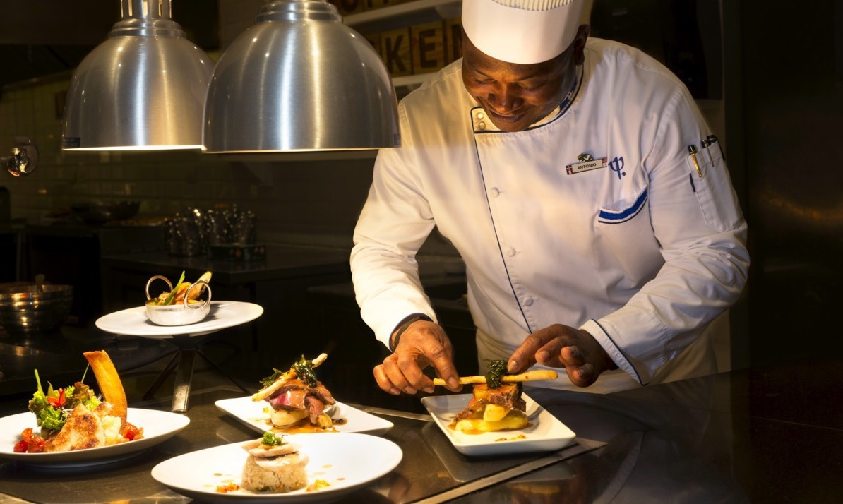Club Med Punta Cana food