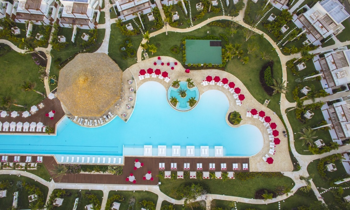 Club Med Punta Cana widok z góry