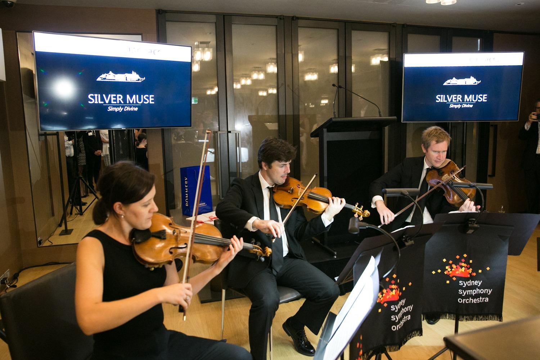 Silversea Muse orkiestra