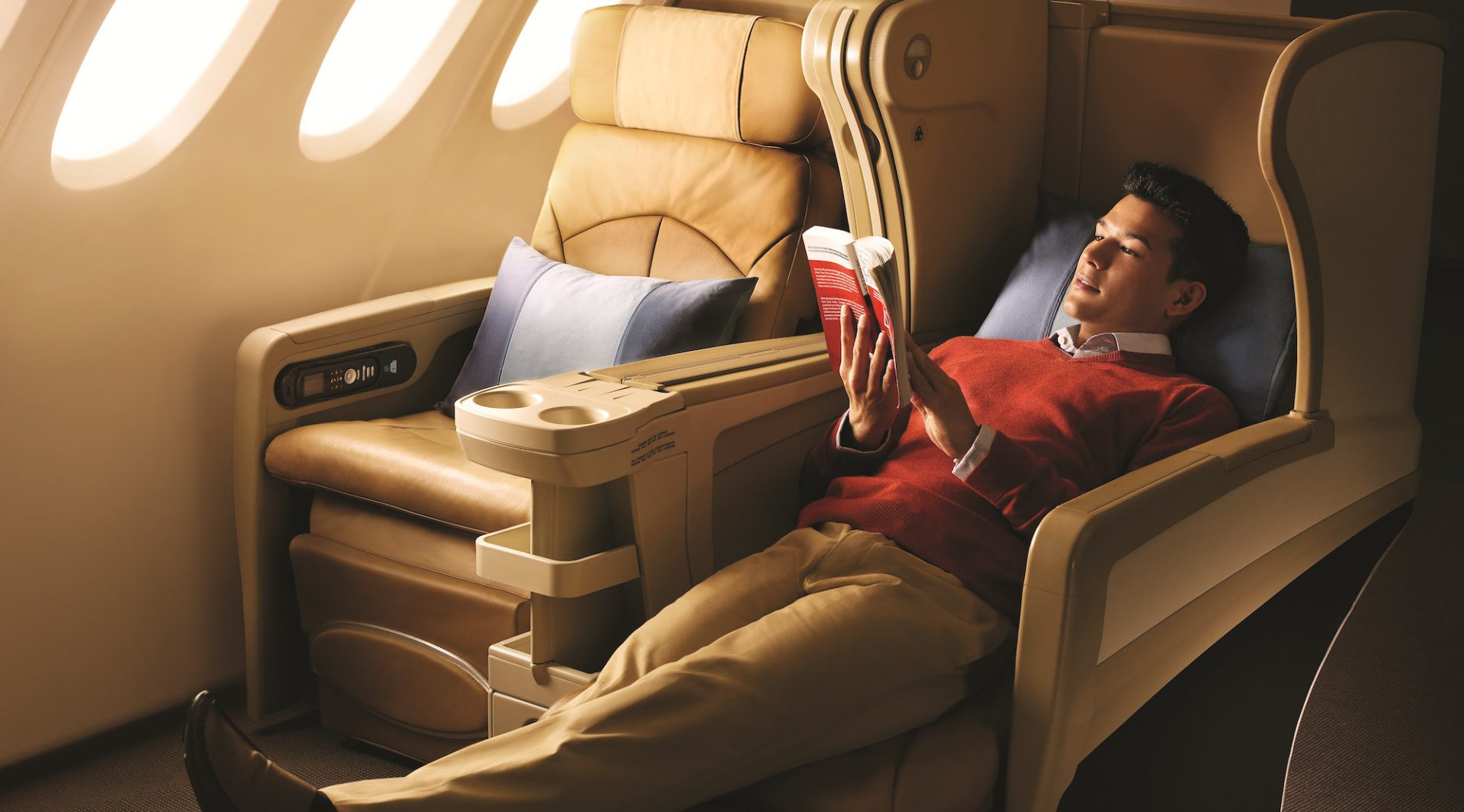 Singapore Airlines Business Class kabina