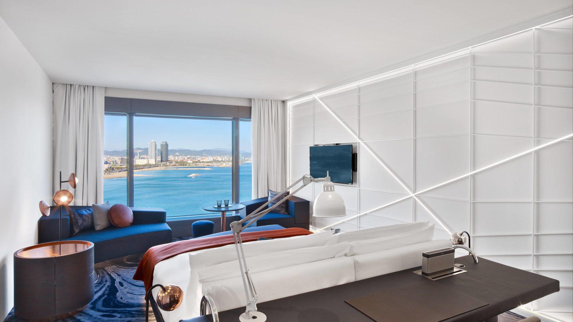 W hotel Barcelona pokoj 3