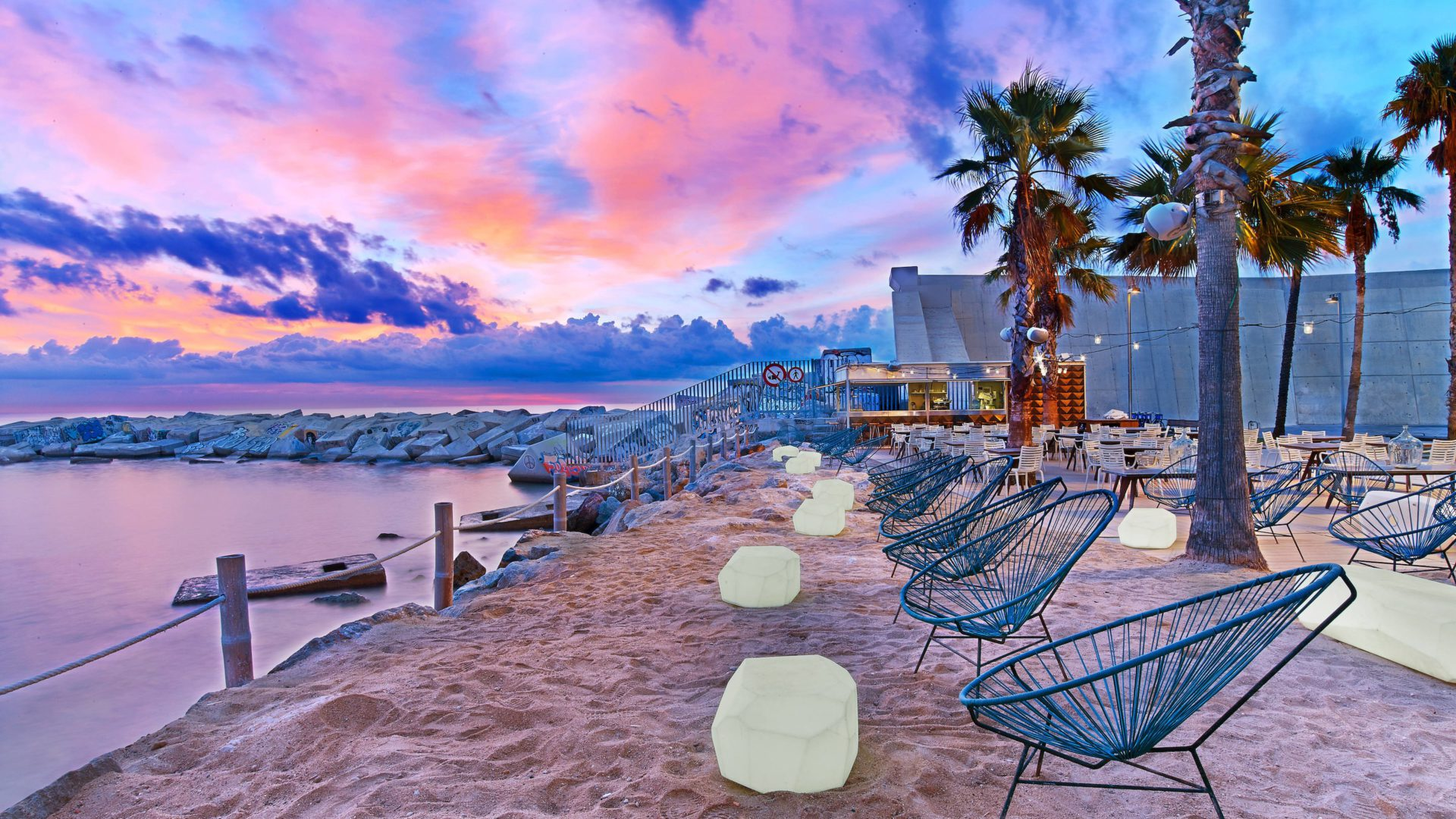 W hotel Barcelona salt beach club
