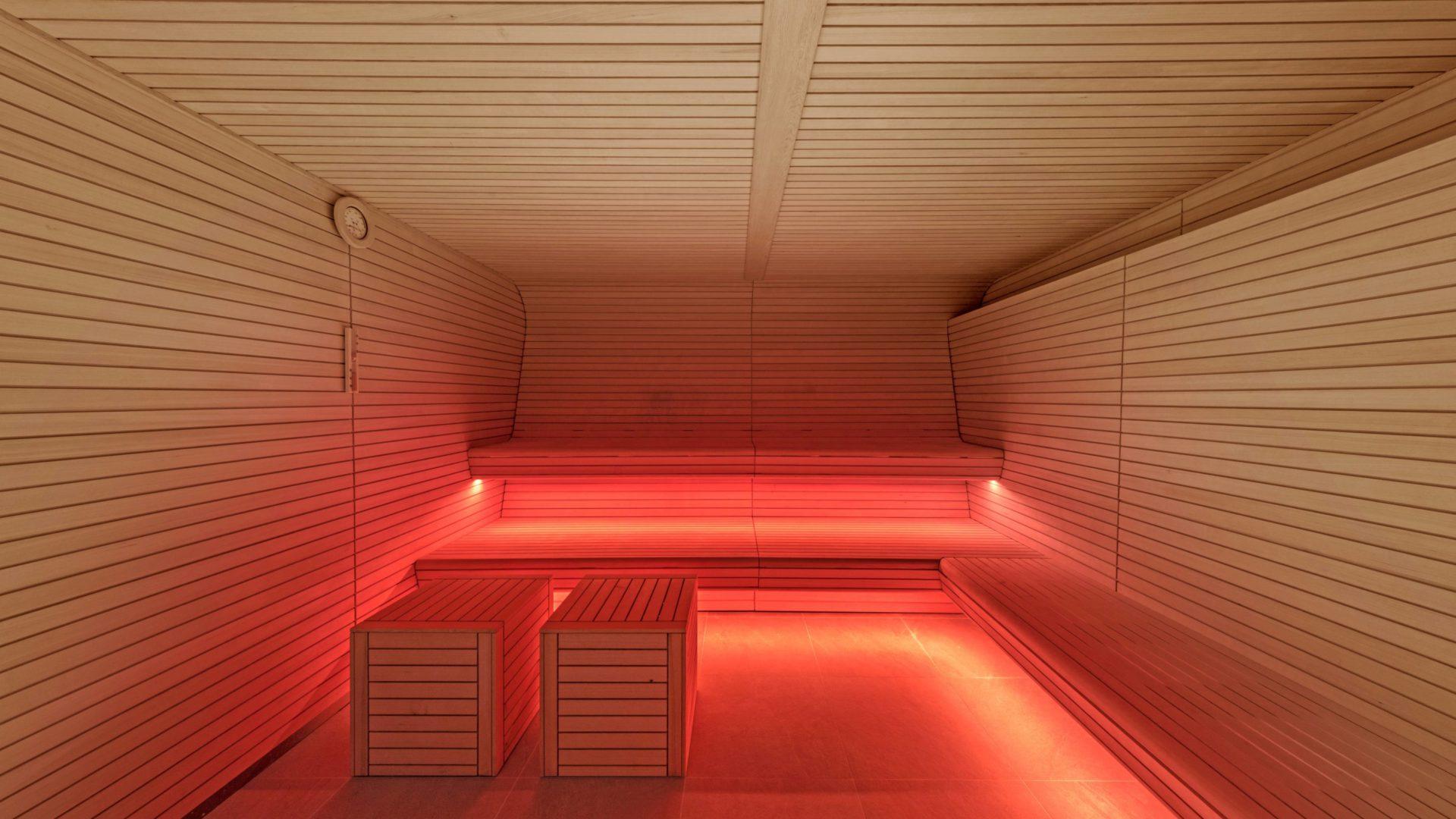W hotel Barcelona sauna